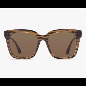 Diff Bella tiger print sunglasses